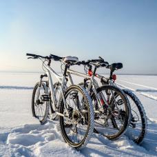 Велосипед и зима